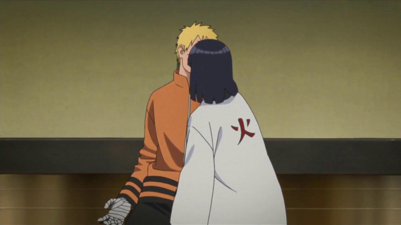 Download Hinata accidentally kissed Naruto when she went to accept the Hokage for Naruto got stuck Byakugan!