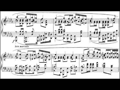 Alexander Scriabin - Polonaise In B Flat Minor, Op. 21