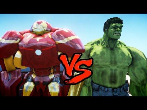 HULK VS HULKBUSTER (Iron Man Mark 44) - EPIC BATTLE