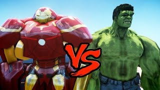 HULK VS HULKBUSTER (Iron Man Mark 44) - EPIC BATTLE