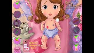 NEW мультик онлайн для девочек—Пострадавшая София—Игры для детей