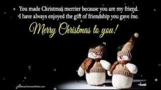 Merry Christmas Quotes & Wishes (We Wish you a Merry Christmas Song)