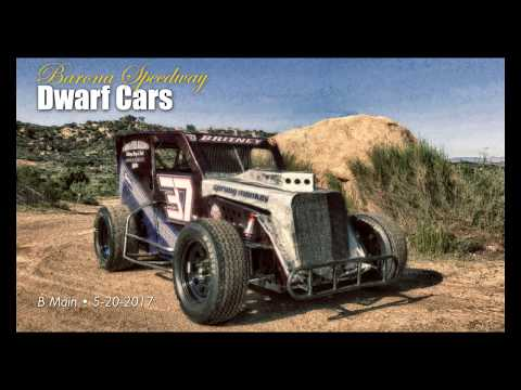 Barona Speedway Dwarf Cars • B Main 5-20-2017