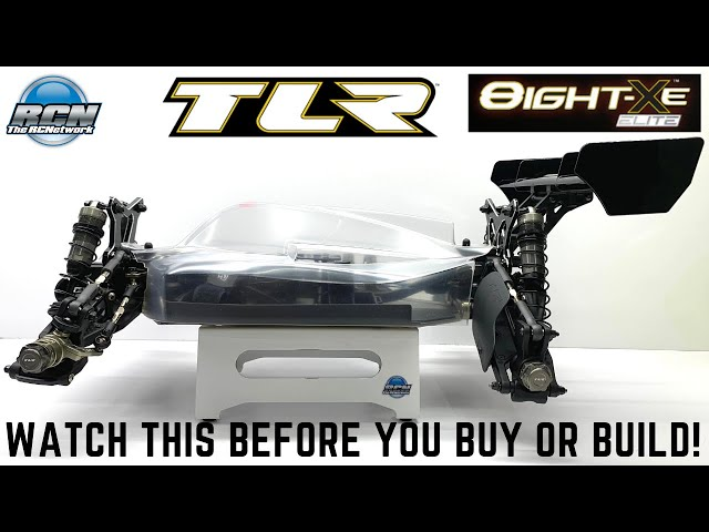 TLR 8ight XE Elite - Build Review - In Depth Look at the Chassis and the Build