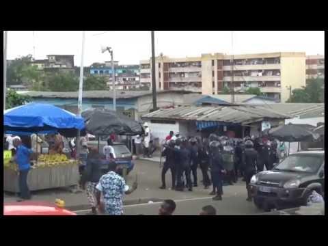 Marche contre le referendum en Côte d'Ivoire / Découvrez ce qui s'est passé