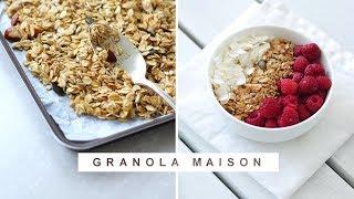 Granola maison – Recette Healthy