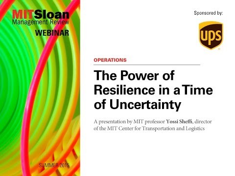 Webinar: The Power of Resilience in a Time of Uncertainty