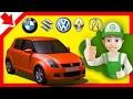 Auto car servicing. Handy Andy cartoon. Learning english games Car cartoons for children in English.