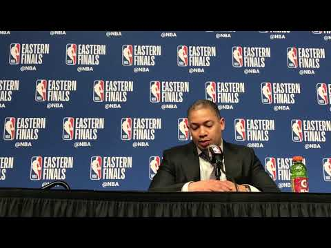 Tyronn Lue had the wrong answer but the right idea on Kyle Korver and Semi Ojeleye