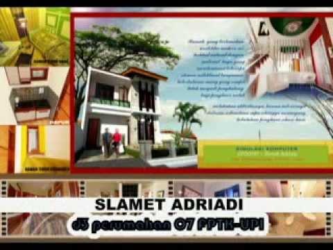 3d animasi rumah minimalis adri1618