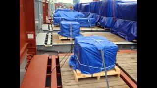 видео Укрытие буровое, полога на буровые установки