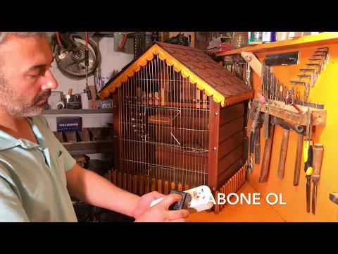 Böyle (Muhabbet Kuşu Kafesi) Görmediniz Ahşap Muhabbet Kuşu Kafesi Yapımı