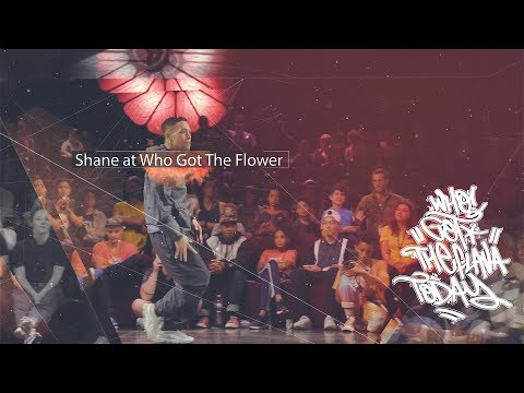 Who Got The Flava Today? Shane at Who Got The Flower 2018