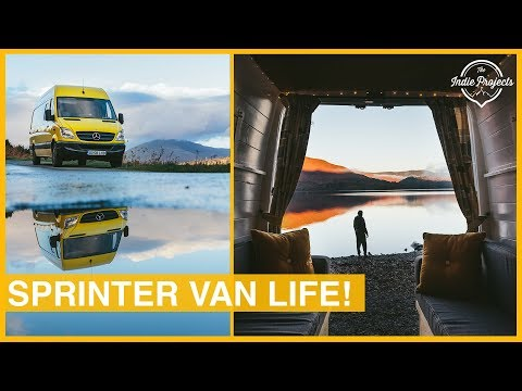 Sprinter Van Living - Our Favourite Lake District Park Up!