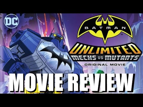 Batman Unlimited Mechs vs Mutants Movie Review