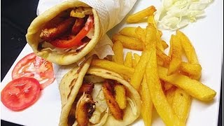 Home Made Chicken Shawarma ഷവർമ  / Arabian Shawarma
