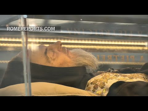 """Padre Pio pilgrims in Rome: """"I"""