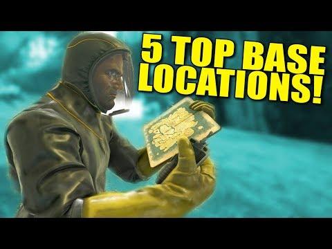 5 BEST ABERRATION BASE LOCATIONS! - Ark: aberration