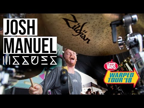 Josh Manuel  Coma by Issues WARPED TOUR 2018