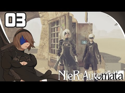 NieR Automata - Episode 3『The Desert Wasteland』