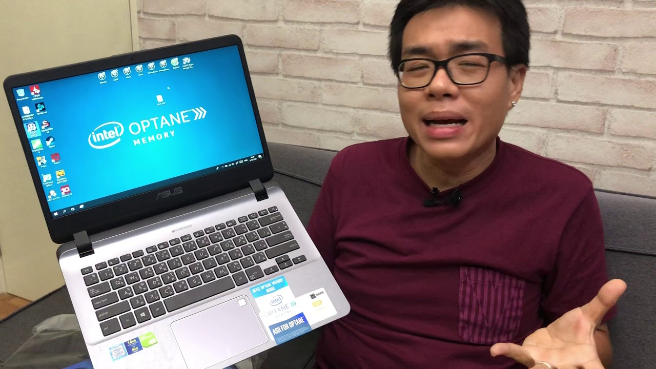Unbox Preview - ASUS X407 โน้ตบุ๊คโคตรคุ้ม 15,990 สเปกได้ มี Intel Optane + Windows 10