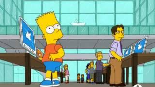 The Simpsons. Crítica a Apple (Mapple). Español. Spanish