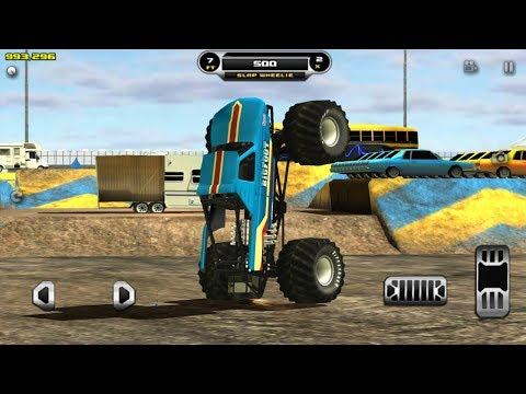 Monster Truck Destruction Big Truck Videos For Toddlers Game Play Youtube