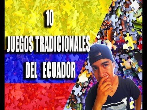 10 Juegos Tradicionales De Ecuador Youtube
