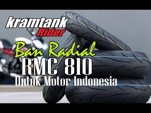 Kabar Buat Para Rider, IRC Luncurkan Ban Radial Untuk Motor, Radial RMC 810 2017