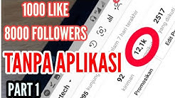 100 Followers Instagram Gratis Tanpa Password | How To Edit