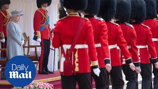 Queen Elizabeth marks 95th official birthday with military ceremony