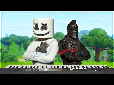 HAPPIER by MARSHMELLO played on GIANT FORTNITE PIANO