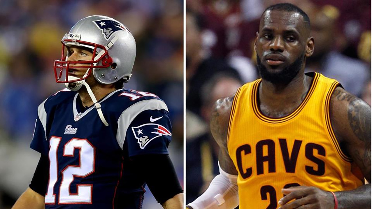 LeBron loves Brady, but doesn't think he's best athlete