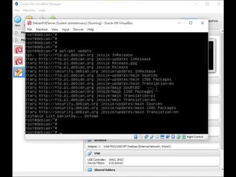 Instalowanie systemu z sieci - PXE