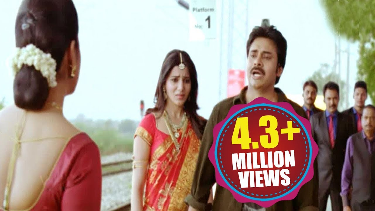 pawan kalyan's attarintiki daredi climax scene || volga video - youtube