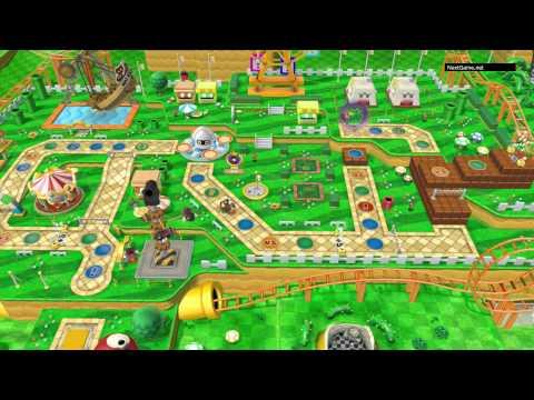 Mario Party 10 - Одиночная игра (Игра Марио) HD [1080p] (Wii U)
