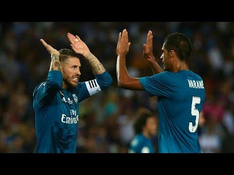 Sergio Ramos and Raphael Varane - The New Duo 2017-18 Defensive Skils