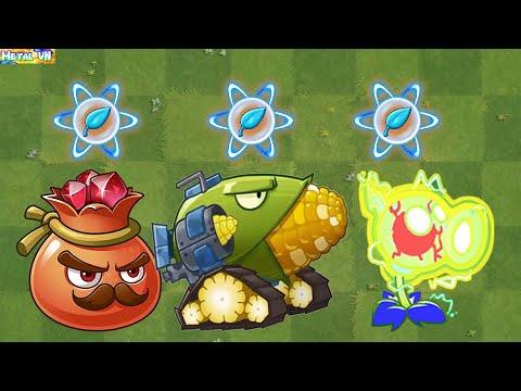 Download Plants vs Zombies 2 Max Level New Plants Power Up!  Vs 999 Zombies | Part 49 - Pvz 2 MetalVN