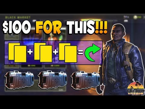 Don't Be Scammed By Activision | Reserve Crates Are A Ripoff In CoD BO4