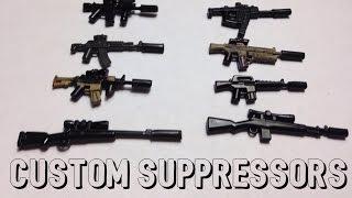 how to make a lego suppressor
