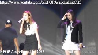 [Acapella] Jessica + Krystal - Tik Tok