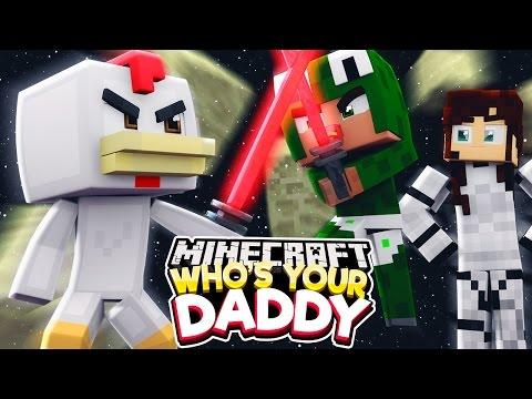 Minecraft Who's Your Daddy?  - STAR WARS JEDI ATTACK! w/ ConkeyDoodleDo