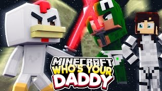 Minecraft Who's Your Daddy?  - STAR WARS JEDI ATTACK! w/ ConkeyDoodleDo