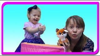 Animale surprize #2!!! Invatam animalele si sunetele lor  Anabella show