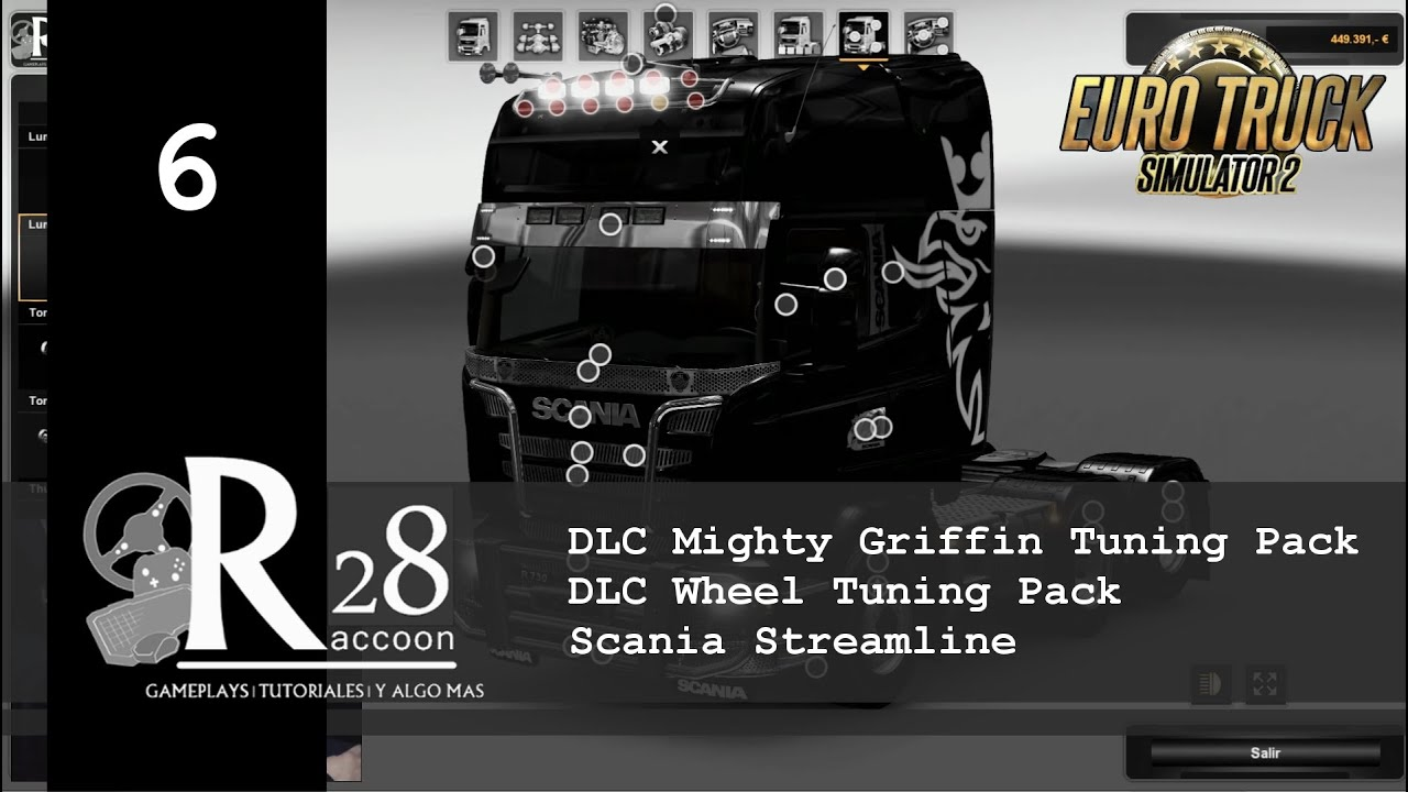 Wheel visualizer application car tuning - Euro Truck Simulator 2 Dlc Mighty Griffin Tuning Pack Dlc Wheel Tuning Pack
