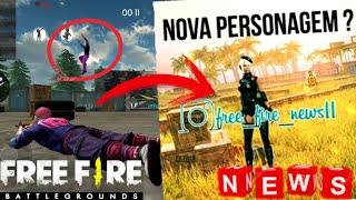 NUEVO PERSONAJE EN FREE FIRE JUNTO CON NUEVA AREA DEL MAPA
