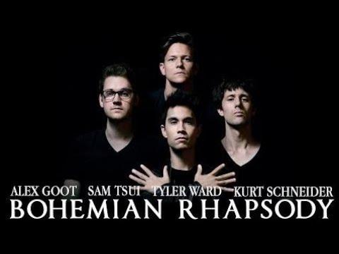 [gootmusic] Bohemian Rhapsody - Queen // (Alex Goot, Sam Tsui, Kurt Schneider, Tyler Ward)