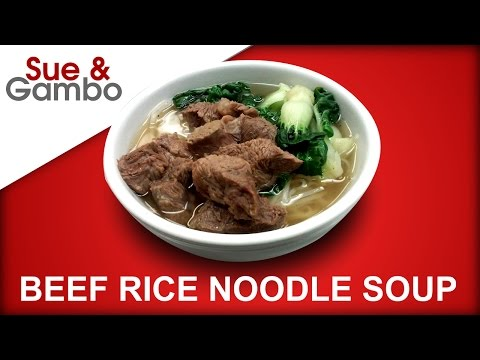 How to Make Beef Rice Noodle Soup