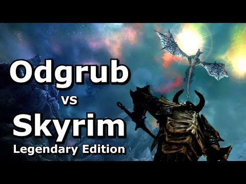 Man VS Skyrim - Legendary Difficulty
