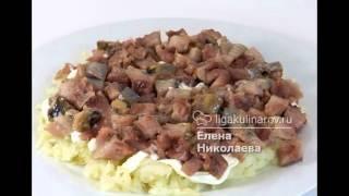 Салат шуба рецепт слои